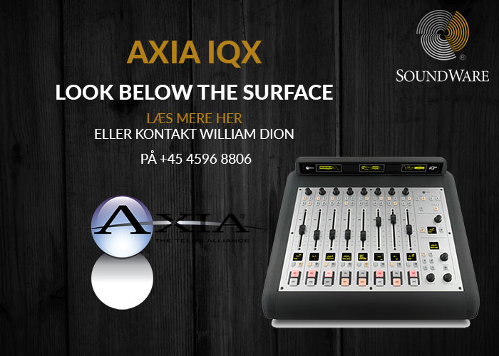 AXIA_IQX_Soundware_DK_nyhed